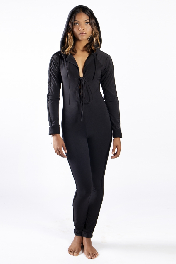 BLACK GALACTICA JUMPSUIT